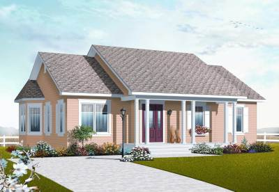 Small Country Ranch House Plans - Home Design 3132