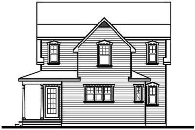 Country Floor Plan - 3 Bedrms, 2.5 Baths - 1630 Sq Ft - #126-1231