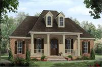 French Country Acadian Style House Plans - Home Design 141 ...