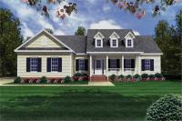 Ranch House Plan- Three Bedrooms | Plan #141-1175