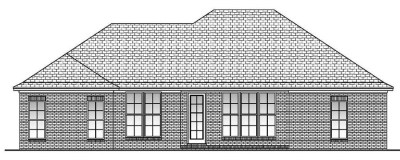 House Plan #142-1063: 3 Bdrm, 1,600 Sq Ft Acadian Home | ThePlanCollection