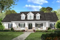 Southern Country House Plan #142-1131: 4 Bedrm, 2420 Sq Ft ...