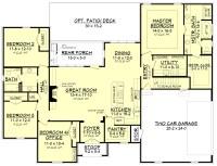 Acadian House Plan #142