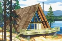 A Frame Houseplans - Home Design LS-H-6-LA