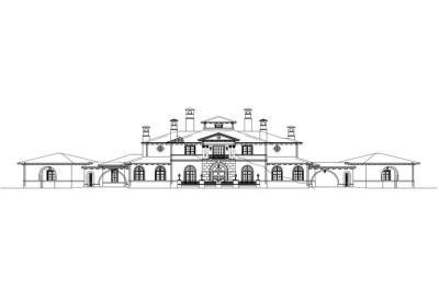 Luxury Houseplans - Home Design 25255