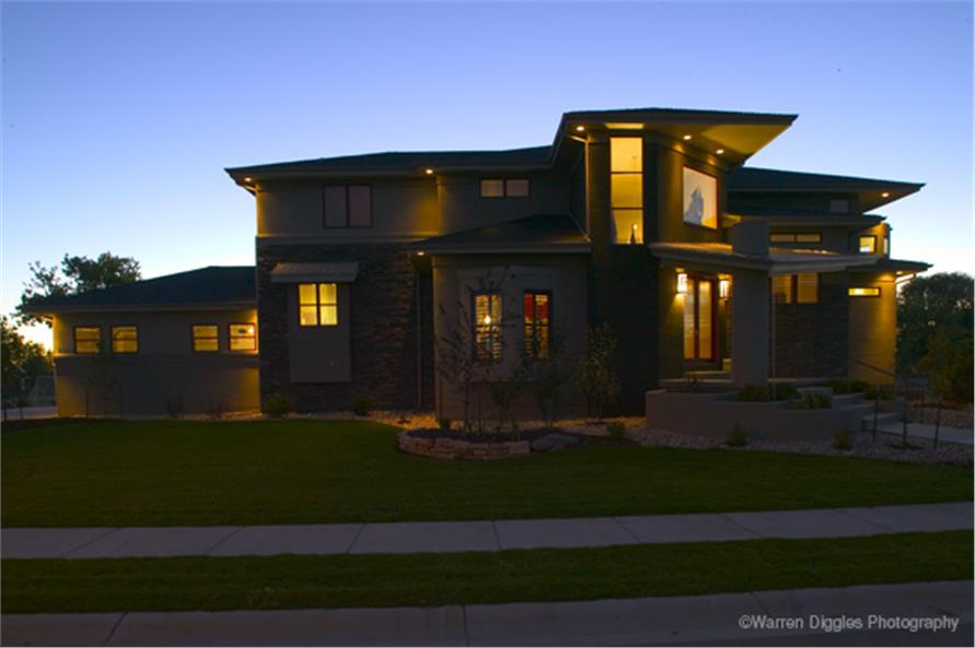 Contemporaryluxurymodern House Plans Home Design 161 1048