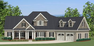 House Plan # 189-1000: 3 Bdrm, 2,549 Sq Ft Colonial Home