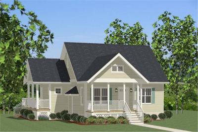 Cottage House Plan #189-1073: 2 Bedrm, 1068 Sq Ft Home | ThePlanCollection