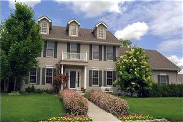 Colonial House Plans Designs The Plan Collection
