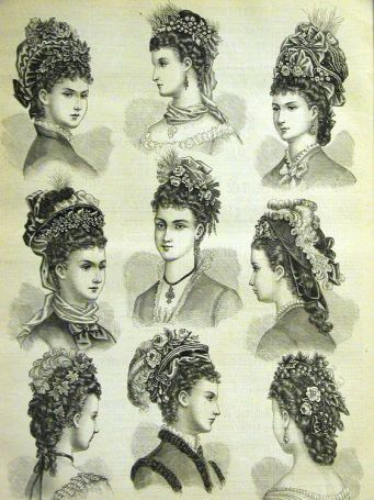 Hairstyles 1888