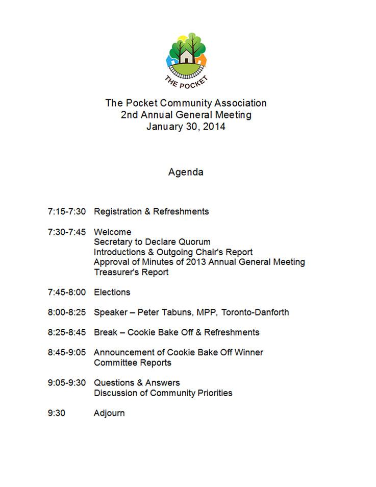 Annual General Meetings - thepocketca