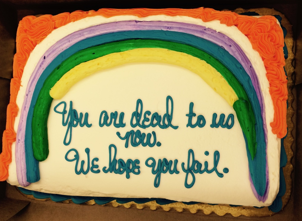 Man prints his resignation letter on a cake The Poke - resignation letter cake