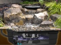 Backyard Waterfall Landscape Fountain Kit | Aquascape Pond ...