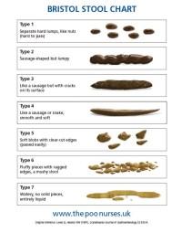 Bowel Movement Chart Nhs - Stool types stool chart colors ...
