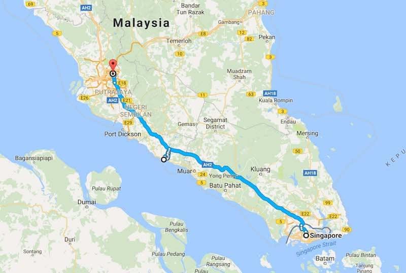 sample trip itineraries