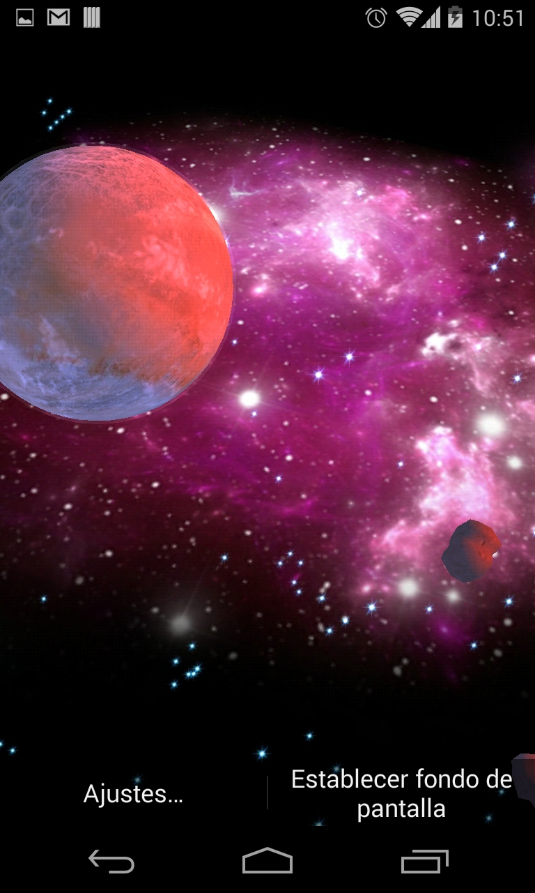 3d Solar System Live Wallpaper For Android 3d Galaxy Live Wallpaper