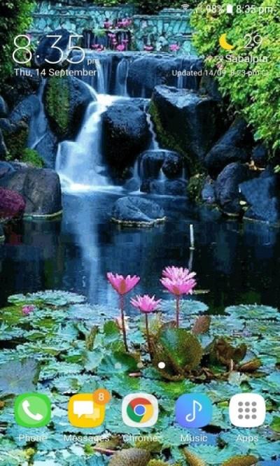 Lotus Garden Live Wallpaper