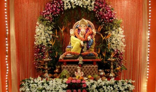 Suggestions For Ganesh Chaturthi Decoration Ideas