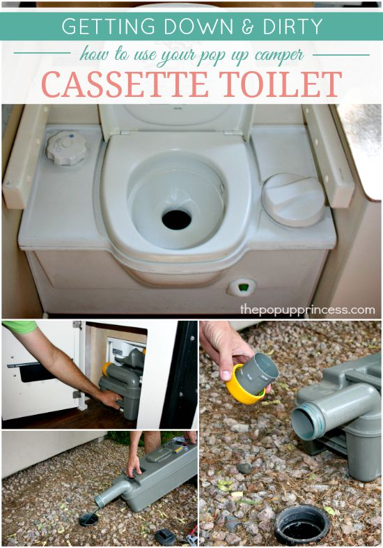 How to Use  Maintain Your Pop Up Camper Toilet