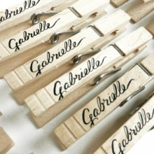 Baby Shower Clothesline Clothespins