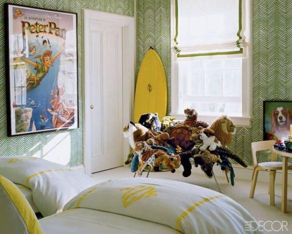 Aerin Lauder Boys Room Elle Decor