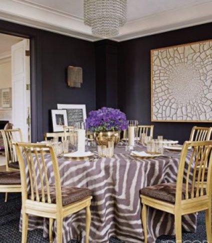 Aerin Lauder Dining Room