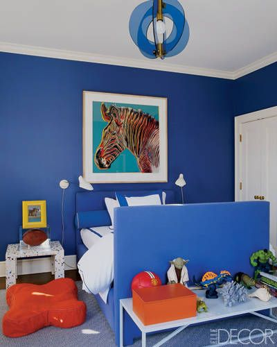 Aerin Lauder child's room Hamptons via Elle Decor