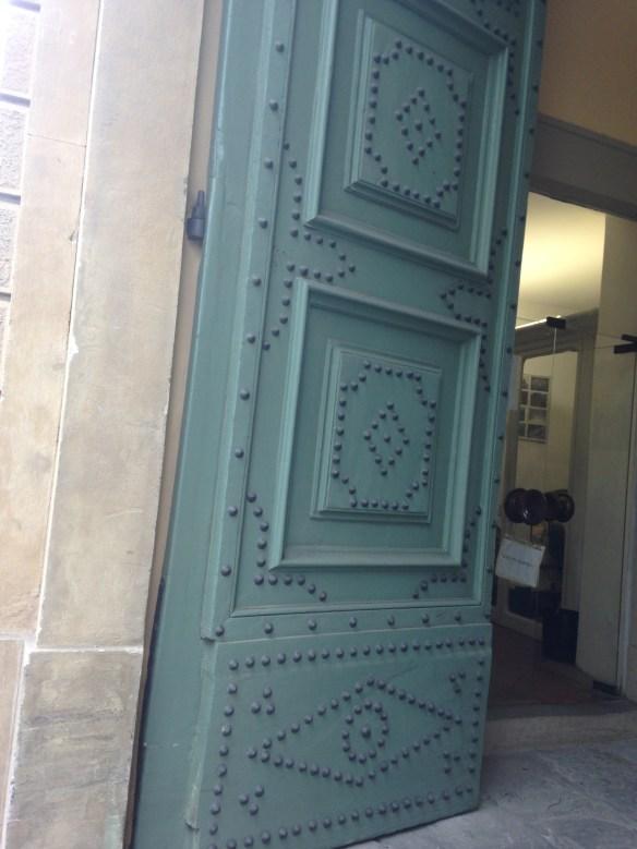 Blue Door Detail