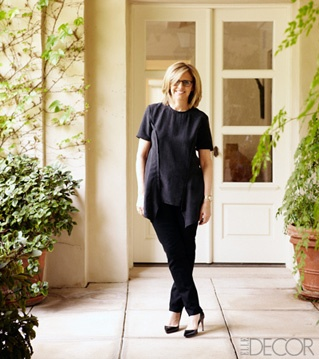 Nancy Meyers in Elle Decor