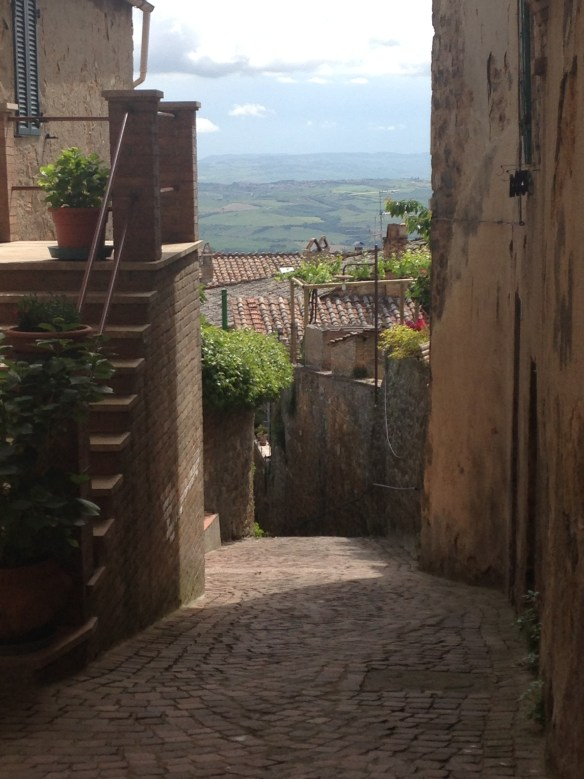 View in Montalcino