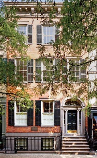 Andrea Anson's NYC Townhouse via AD
