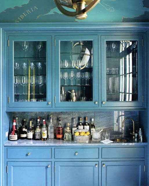 Blue Bar by Miles Redd_Town & Country