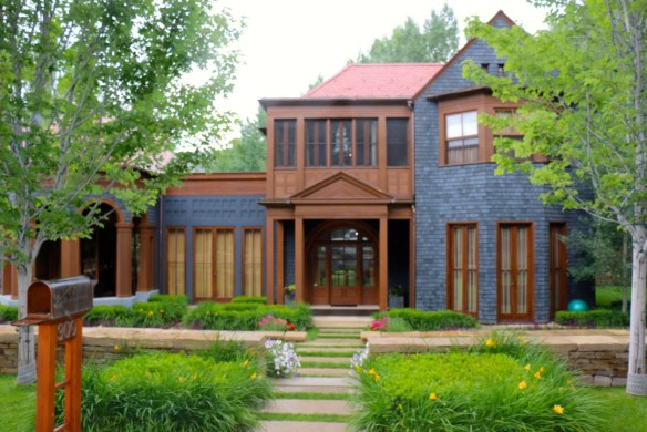 Blue and Brown Aspen Home