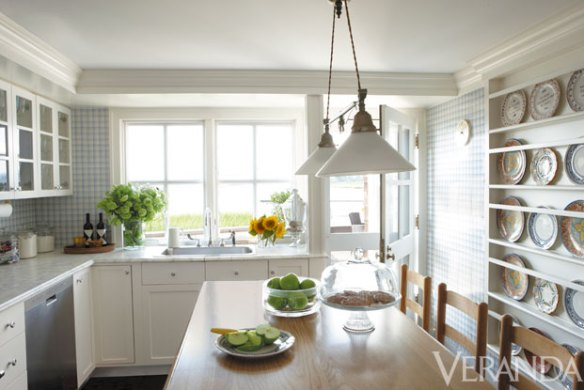 Kelli Ford Southampton Kitchen via Veranda