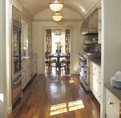 Michael S Smith Galley Kitchen