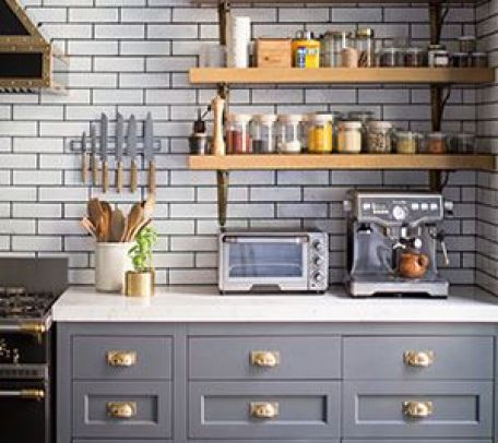 Open Sleving Kitchen in Domino