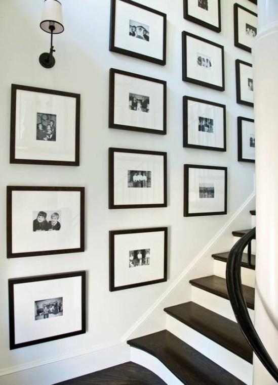Phoebe Howard Gallery Wall of Family Photos