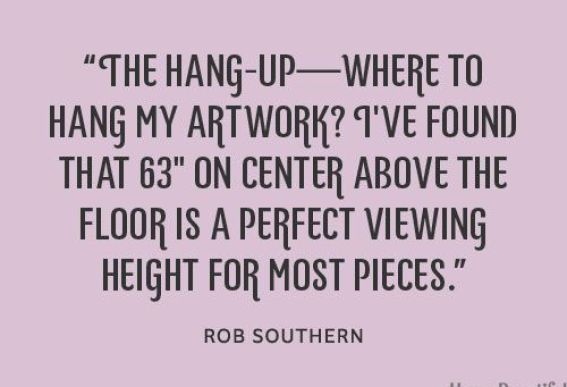 Rob Southern Quote via House Beautiful