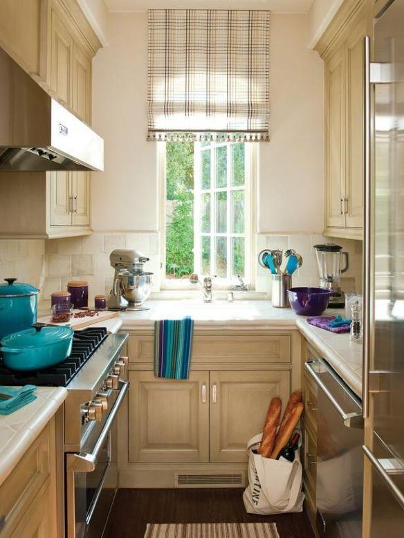 Small kitchen via pinterest