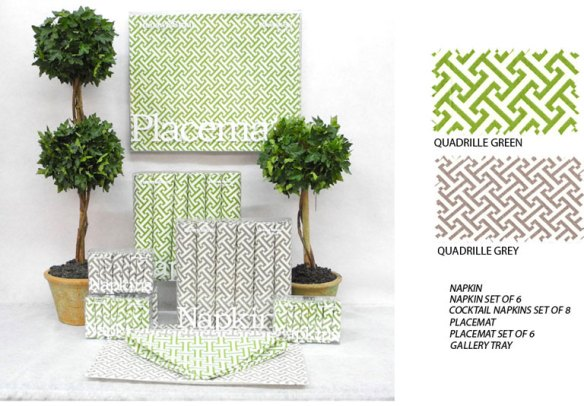 quadrille-green-grey pattern