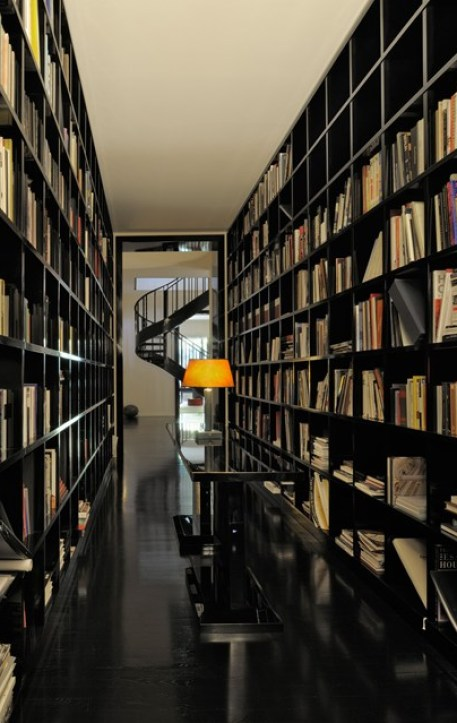 Armani Library via Vogue UK