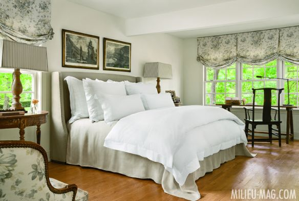 Bedroom by Shannon Bowers in Milieu Mag