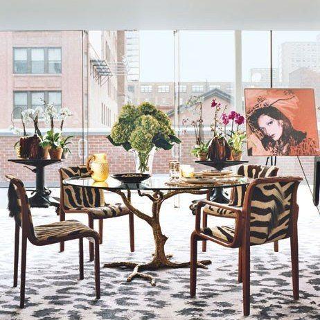 DVF's penthouse via AD