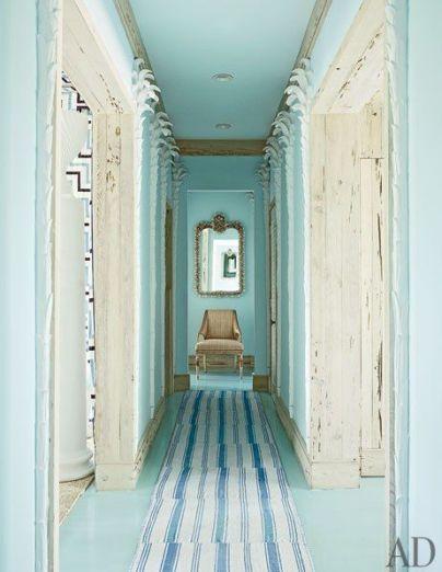 Miles Redd Bahamas Hallway via AD