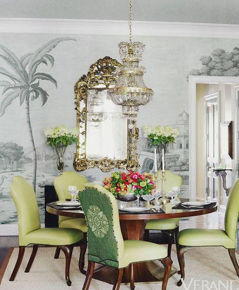 Ruthie Sommers Dining Room via Veranda
