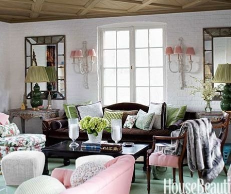 Ruthie Sommers Living Room via HB
