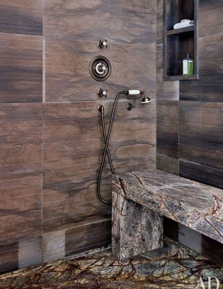Steven Gambrel Bathroom via AD