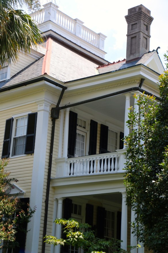 TPB Yellow House and Black Shutters in Charleston