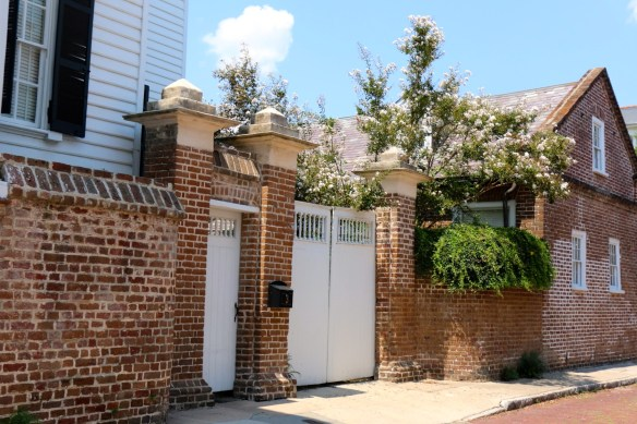 TPB gated side enterance in Charleston