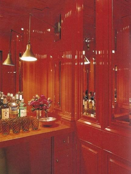 Tory Burch Red Bar via Vogue Living